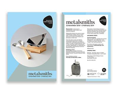 """""""Metalsmiths"""" Exhibition Branding"""