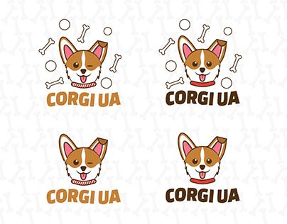 Logotype for Welsh Corgi kennel in Ukraine
