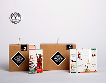TABASCO Gift Box - two packs and four packs