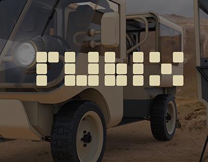 USMC Rubix Marines Logistics Vehicle Concept