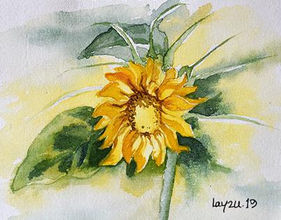 Watercolor Study 07.