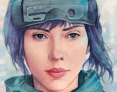 The Major (Scarlett Johansson)