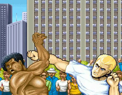 Street Fighter II Tribute