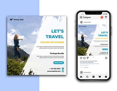 Travel Social media Instagram Template