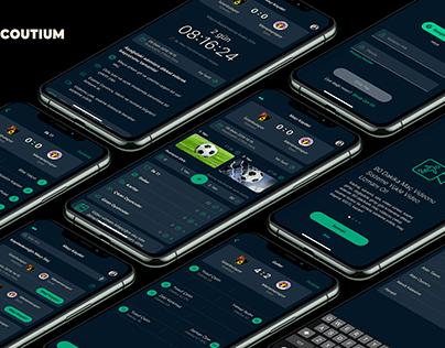 Scoutium iPhone App Concept