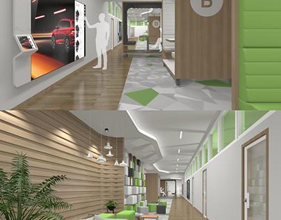 Skoda interier concept