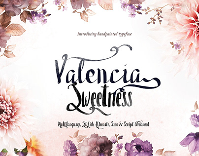 Free Valencia Sweetness Duo Font