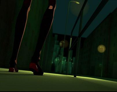 "3D short animation""Arophobia"""