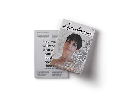 ARDOUR | Photoshoot & Publication Design