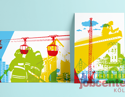 Posterdesign Jobcenter Köln