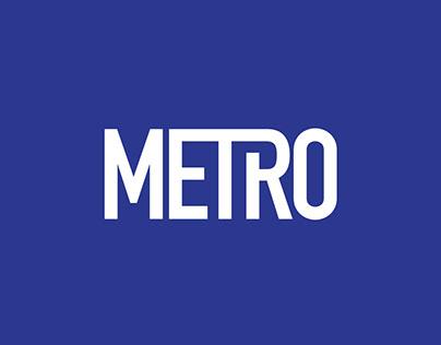 Cairo Metro Rebrand