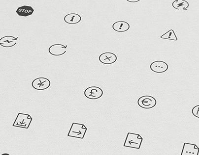Banking icon set / Коллекция иконок для Банка