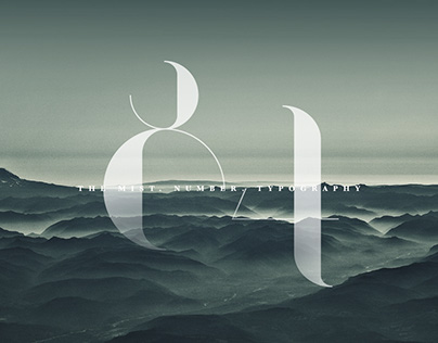 The Number | Typography