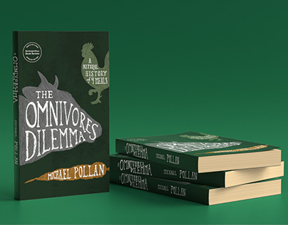 Omnivores Dilemma Book Design