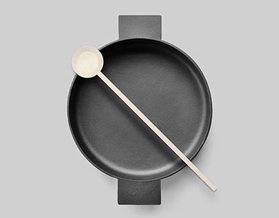 RIBRAND | Minimalist kitchen utensils