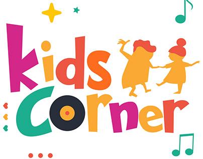 Kids Corner Logotype设计