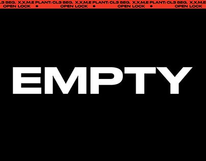 """""""EMPTY"""" XXME SS/01-19"""