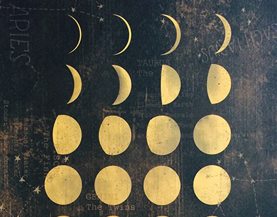 Golden Moon Phases