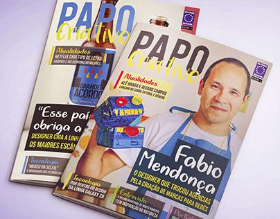 Revista Papo Criativo | Diagramação Digital