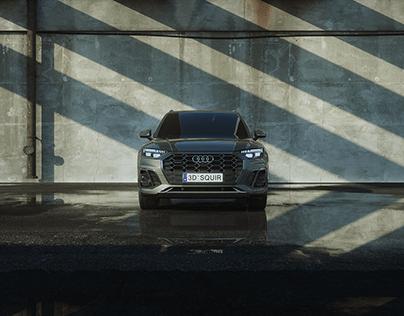 2021_Audi_Q5L_Car Show_part