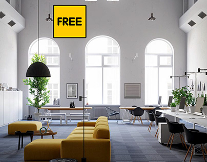 Free 3D Scene Nottdesign Office From Pham Phuc