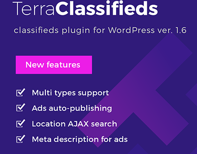 Update - TerraClassifieds WordPress classifieds plugin