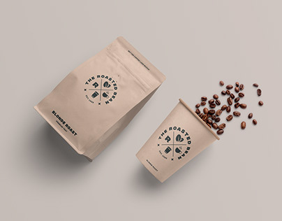 The Roasted Bean | Coffee Shop Identity