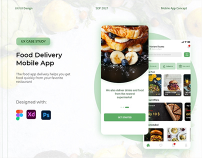 Food Delivery Mobile App (Case Study)