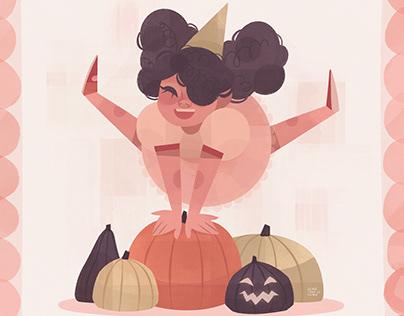 Pumpkin Jump | DTIYS illustration