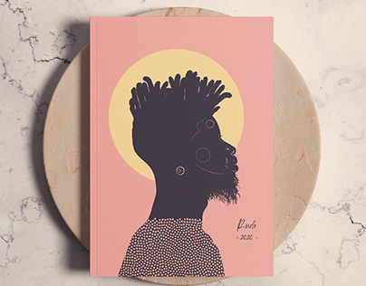African Hipster Illustration Series