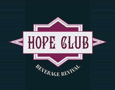 Hope Club  Beverage Revival  Branding