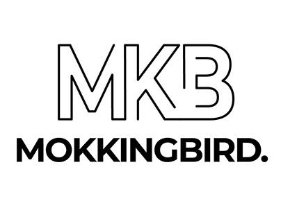 Mokkingbird logo design
