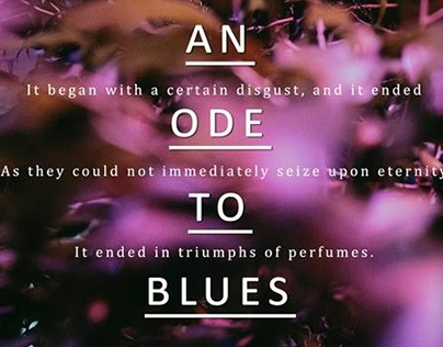 an ode to blues