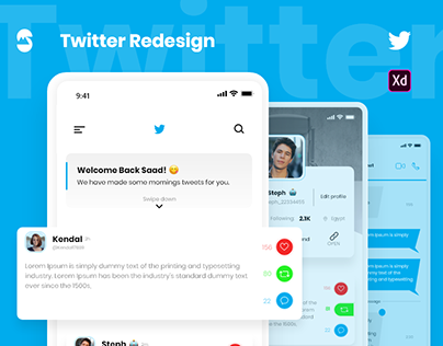Twitter Redesign | New Feature