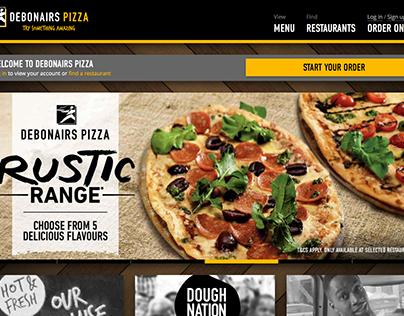 Debonairs Pizza Website