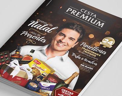 Catálogo de Natal - Cesta Premium