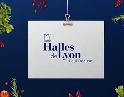 Logo - Branding - Les Halles de Lyon
