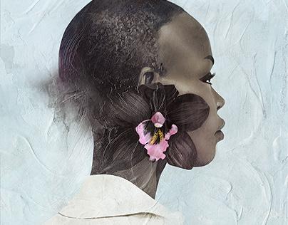 Black Orchid | Portrait