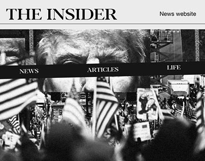 THE INSIDER - Redesign popular news site