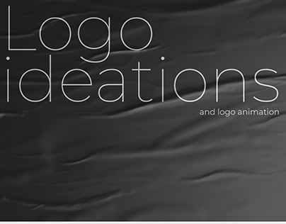 Logo ideations and animation