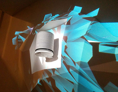 B&O Play - Video mapping on sculpture