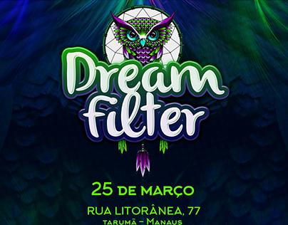 Projeto de Identidade Visual - Psy-trance - Dreamfilter