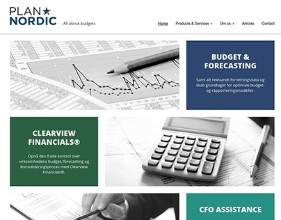 PlanNordic - Web design for Wordpress