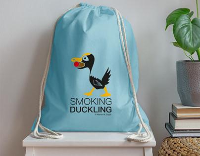 Smoking Duckling - drawing