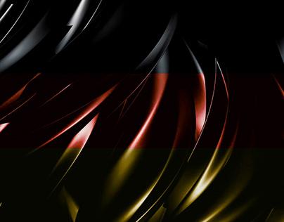 Die deutsche Flagge Wallpaper für HEX Projekt