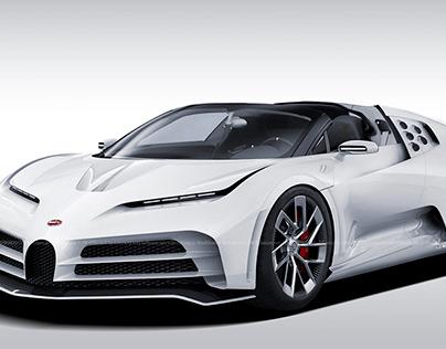 2020 Bugatti Centodieci Roadster