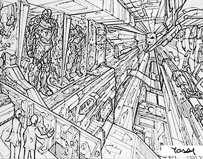 Concept art_Pencil drawing