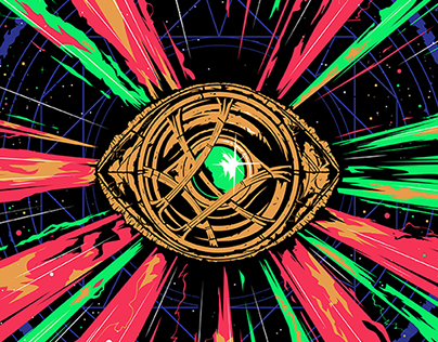 Dr Strange artwork - Zavvi Zbox