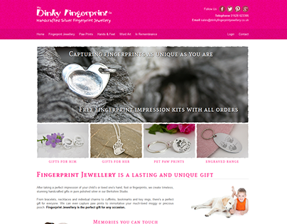 The Dinky Fingerprint Jewellery Company