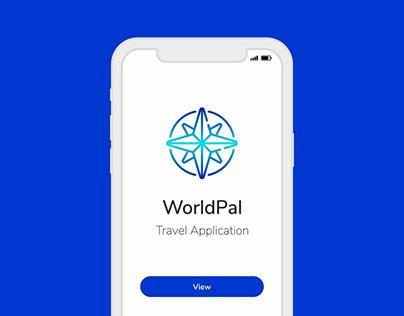 WorldPal Travel App - UI Design